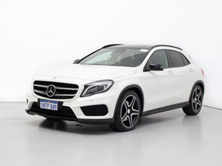 2016 Mercedes-Benz GLA220D X156 MY17 Cirrus White 7 Speed Auto Dual Clutch Wagon.
