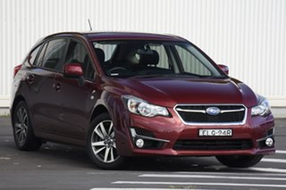 2015 Subaru Impreza G4 MY15 2.0i Lineartronic AWD Premium Red 6 Speed Constant Variable Hatchback.
