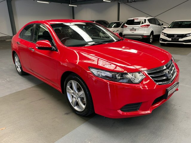 Used Honda Accord Euro CU MY13 Hornsby, 2013 Honda Accord Euro CU MY13 Red 5 Speed Automatic Sedan