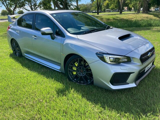 Pre-Owned Subaru WRX V1 MY20 STI AWD South Grafton, 2019 Subaru WRX V1 MY20 STI AWD Silver 6 Speed Manual Sedan