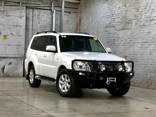 Used Mitsubishi Pajero NX MY18 GLX Mile End South, 2018 Mitsubishi Pajero NX MY18 GLX White 5 Speed Sports Automatic Wagon