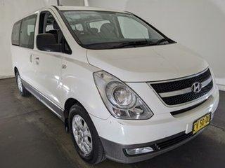 2011 Hyundai iMAX TQ-W White 4 Speed Automatic Wagon.