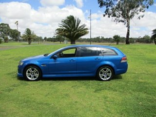 2010 Holden Commodore VE MY10 SV6 Sportwagon Blue 6 Speed Sports Automatic Wagon