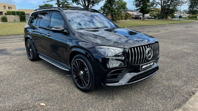 Demo Mercedes-Benz GLS-Class X167 801MY GLS63 AMG SPEEDSHIFT TCT 4MATIC+ Port Macquarie, 2020 Mercedes-Benz GLS-Class X167 801MY GLS63 AMG SPEEDSHIFT TCT 4MATIC+ Obsidian Black Metallic