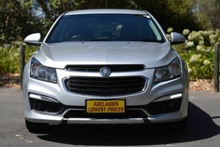 2015 Holden Cruze JH Series II MY15 SRi Silver 6 Speed Sports Automatic Hatchback.