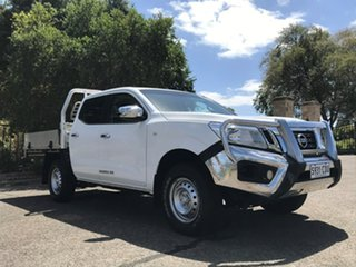 2016 Nissan Navara D23 RX 4x2 White 7 Speed Sports Automatic Utility.