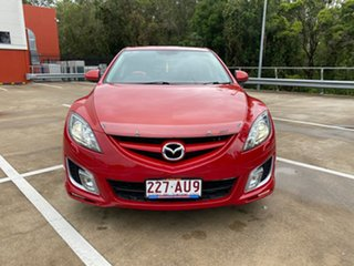 2008 Mazda 6 GH Luxury Sports Red 5 Speed Auto Activematic Hatchback
