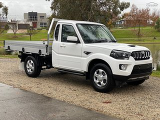 2021 Mahindra Pik-Up S6+ (4x2) Abalone White 6 Speed Manual Utility.