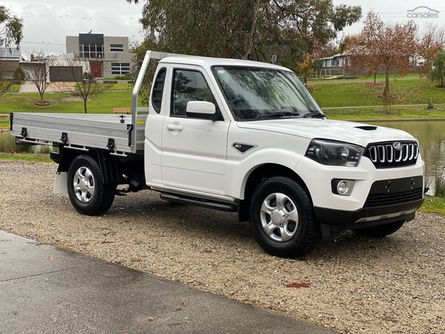 New Mahindra Pik-Up S6 (4x2) Bundaberg, 2021 Mahindra Pik-Up S6+ (4x2) Abalone White 6 Speed Manual Utility
