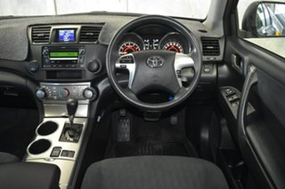 2010 Toyota Kluger GSU40R KX-R (FWD) 7 Seat Black 5 Speed Automatic Wagon