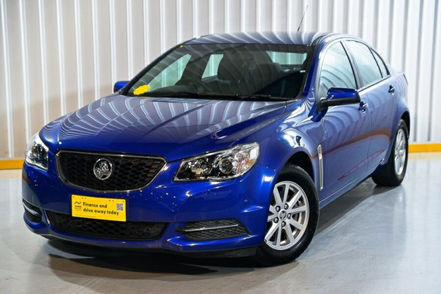 Used Holden Commodore VF II Evoke Hendra, 2016 Holden Commodore VF II Evoke Blue 6 Speed Automatic Sedan