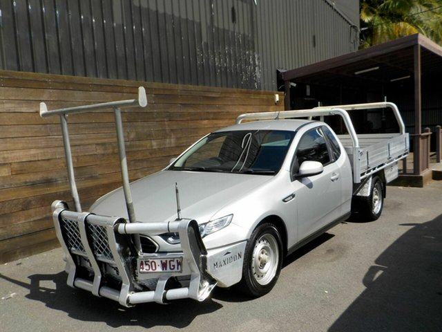 Used Ford Falcon FG X Super Cab Labrador, 2015 Ford Falcon FG X Super Cab Silver 6 Speed Sports Automatic Cab Chassis