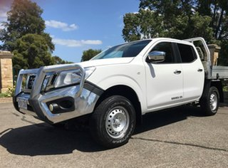 2016 Nissan Navara D23 RX 4x2 White 7 Speed Sports Automatic Utility