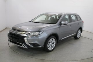 2019 Mitsubishi Outlander ZL MY19 ES AWD Grey 6 Speed Constant Variable Wagon.