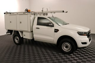 2017 Ford Ranger PX MkII XL Cool White 6 speed Automatic Cab Chassis