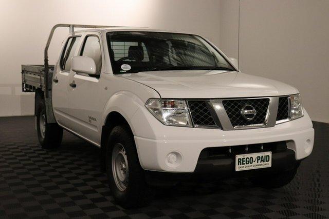 Used Nissan Navara D40 S8 RX Acacia Ridge, 2014 Nissan Navara D40 S8 RX White 6 speed Manual Cab Chassis