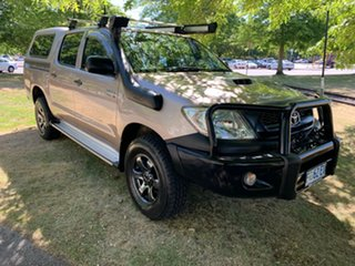 2011 Toyota Hilux KUN26R MY10 SR Gold 4 Speed Automatic Utility.