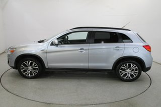 2015 Mitsubishi ASX XB MY15 LS 2WD Cool Silver 6 Speed Constant Variable Wagon
