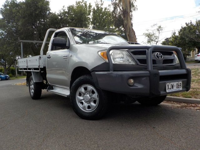 Used Toyota Hilux KUN26R MY07 SR Broadview, 2006 Toyota Hilux KUN26R MY07 SR 5 Speed Manual Cab Chassis