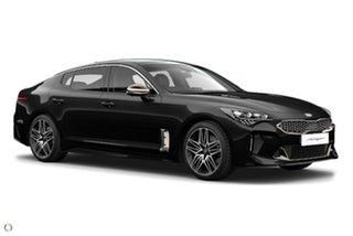 2020 Kia Stinger CK MY21 GT Fastback Black 8 Speed Sports Automatic Sedan