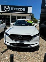 2020 Mazda CX-5 Maxx White 6 Speed Automatic Wagon.