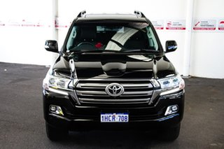 2020 Toyota Landcruiser VDJ200R VX Eclipse Black 6 Speed Sports Automatic Wagon.