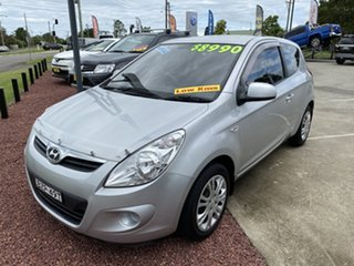 2010 Hyundai i20 Active Silver Manual Hatchback.