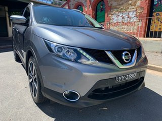 2015 Nissan Qashqai J11 TI Grey 1 Speed Constant Variable Wagon.