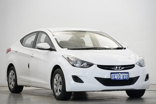 2013 Hyundai Elantra MD2 Active Creamy White 6 Speed Sports Automatic Sedan