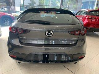 2020 Mazda 3 BP2HLA G25 SKYACTIV-Drive Astina Machine Grey 6 Speed Sports Automatic Hatchback