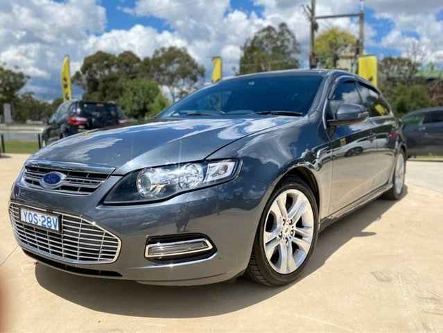 Used Ford Falcon Goulburn, 2014 Ford Falcon G6E - Turbo Grey Sports Automatic Sedan