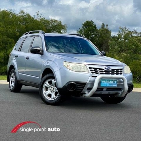 Used Subaru Forester S3 MY11 X AWD Chevallum, 2011 Subaru Forester S3 MY11 X AWD Silver 4 Speed Sports Automatic Wagon