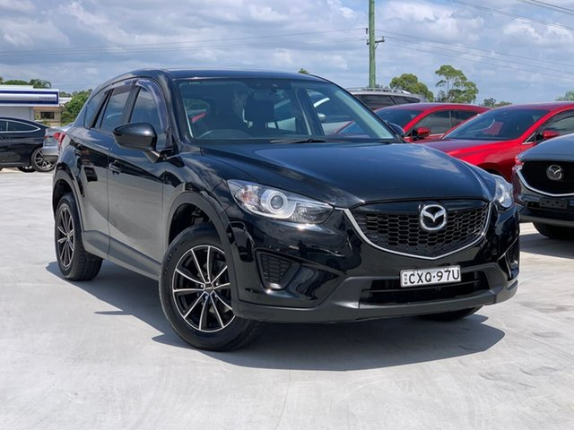 Used Mazda CX-5 KE1031 MY14 Maxx SKYACTIV-Drive AWD Liverpool, 2014 Mazda CX-5 KE1031 MY14 Maxx SKYACTIV-Drive AWD Jet Black 6 Speed Sports Automatic Wagon