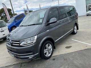 2018 Volkswagen Multivan T6 MY19 TDI450 - Highline Indium Grey 7 Speed Sports Automatic Dual Clutch.