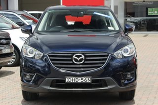 2016 Mazda CX-5 KE1032 Maxx SKYACTIV-Drive i-ACTIV AWD Sport Blue 6 Speed Sports Automatic Wagon