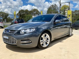 2014 Ford Falcon G6E - Turbo Grey Sports Automatic Sedan.