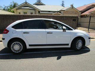 2010 Citroen C4 MY09 VTi White 4 Speed Automatic Hatchback