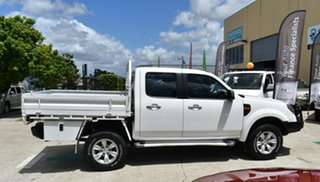 2010 Ford Ranger PK XLT (4x4) White 5 Speed Automatic Dual Cab Pick-up