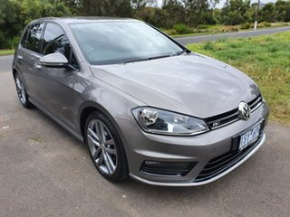 2015 Volkswagen Golf 7 110TSI Highline Grey Sports Automatic Dual Clutch Hatchback.