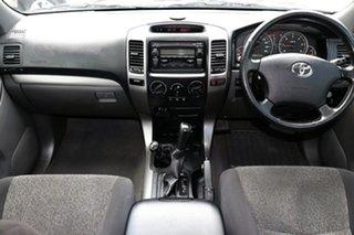2004 Toyota Landcruiser Prado KZJ120R GXL Blue 4 Speed Automatic SUV