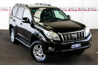 2011 Toyota Landcruiser Prado KDJ150R 11 Upgrade VX (4x4) Ebony 5 Speed Sequential Auto Wagon.
