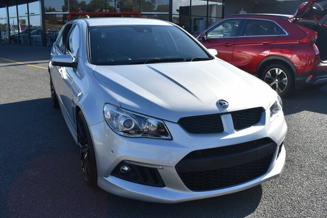 Used Holden Special Vehicles ClubSport Gen-F MY14 R8 Tourer Wantirna South, 2013 Holden Special Vehicles ClubSport Gen-F MY14 R8 Tourer Billet Silver 6 Speed Sports Automatic