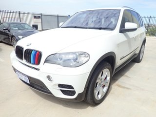 2010 BMW X5 E70 MY10 xDrive 40d Sport White Satin 8 Speed Automatic Sequential Wagon.