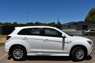 2011 Mitsubishi ASX XA MY11 2WD White 6 Speed Constant Variable Wagon.