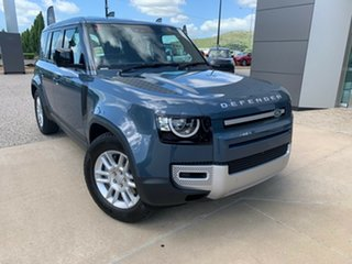 2020 Land Rover Defender L663 20.5MY S Tasman Blue 8 Speed Sports Automatic Wagon.