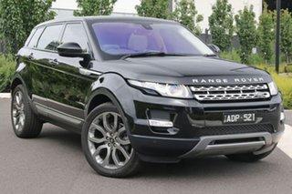 2015 Land Rover Range Rover Evoque L538 MY15 Prestige Black 9 Speed Sports Automatic Wagon.
