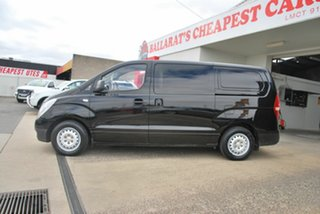 2012 Hyundai iLOAD TQ MY13 Black 6 Speed Manual Van