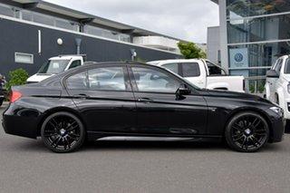2014 BMW 320d F30 MY0813 320d Black 8 Speed Sports Automatic Sedan.