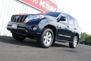 2014 Toyota Landcruiser Prado KDJ150R MY14 GXL Dynamic Blue 5 Speed Sports Automatic Wagon.
