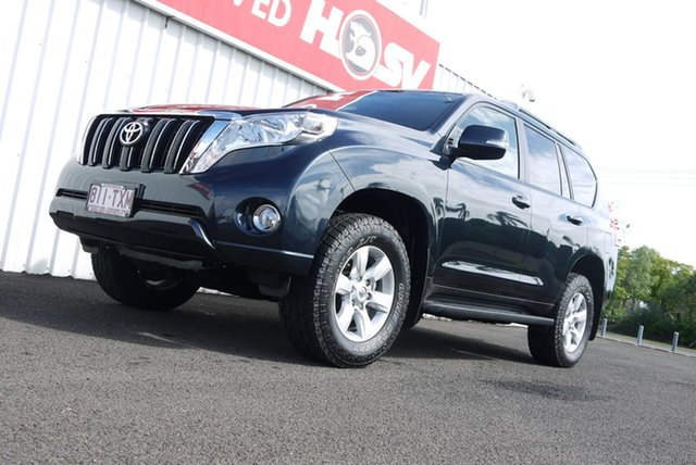 Used Toyota Landcruiser Prado KDJ150R MY14 GXL Bundaberg, 2014 Toyota Landcruiser Prado KDJ150R MY14 GXL Dynamic Blue 5 Speed Sports Automatic Wagon